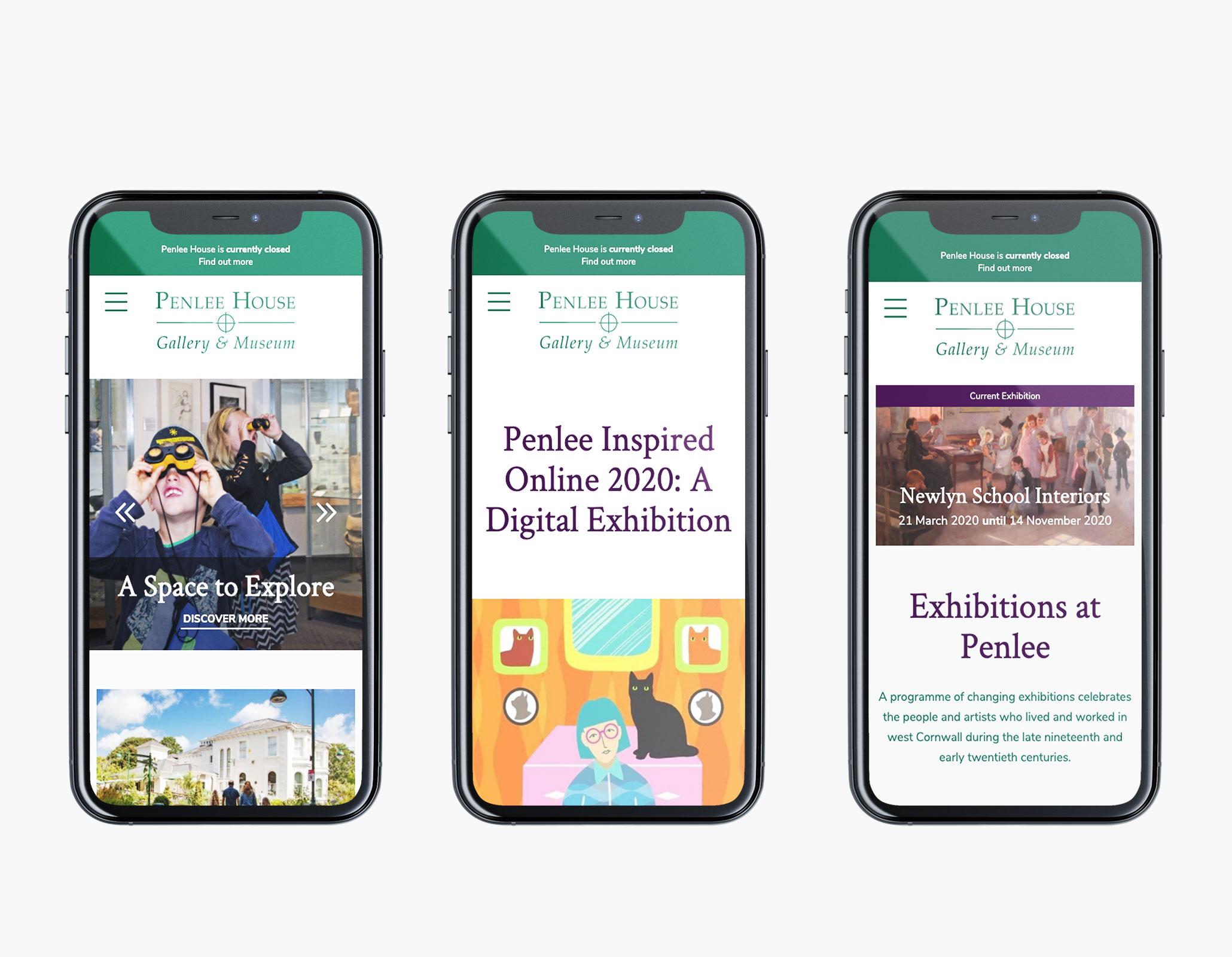 Krowji, Cornwall website design